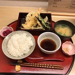 天ぷら やす田 - 天ぷら定食(900円)