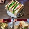 カフワ コーヒー - 料理写真:【サンドイッチ】ツナとトマト(540円)