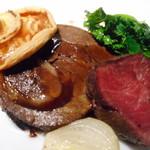 藤沢 日本酒×肉バル 来酒 - 北海道産 蝦夷鹿の2種の調理法で