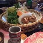 木曽路 - しゃぶしゃぶの野菜