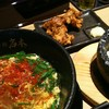 Bungokarameniwamoto - 料理写真:豊後辛麺 ¥680 + ランチBセット ¥220