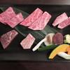 門司笑 - 料理写真:特選伊万里牛5種盛り 4200円