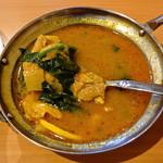 ナマステ朝霞 - ネパールカレー(チキンスープカレー)