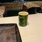 79207715 - 冷酒は滋賀県の杣の天狗薄濁り