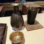 いはら田 - 熱燗(大)は松竹梅×2