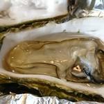 味くらべ - 蒸し牡蠣