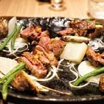 燦 - ☆主菜 銘柄黒毛和牛 大和牛の鉄板焼き