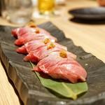 燦 - ☆大トロの握り寿司