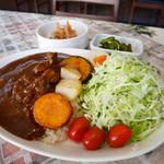 kitchen 比呂 - 牛タン煮込みカレー