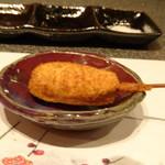 たつかわ - ◆長崎県産西海豚の串揚げ