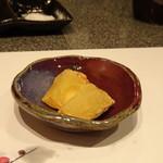 たつかわ - ◆大分県産紅はるかの串揚げ 30分以上かけて揚げられているので、甘いこと。