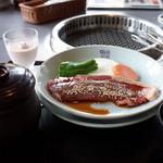 蔵屋鳴沢 - 牛サーロインの網焼きランチ