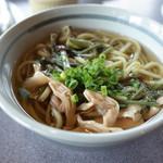蔵屋鳴沢 - 山菜お茶うどん