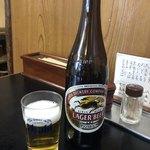 あさだ - 瓶ビール 550円