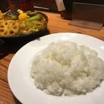 野菜を食べるカレーcamp - ライス