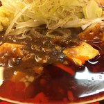 79215890 - マーボー麺(780円)+味玉(100円)