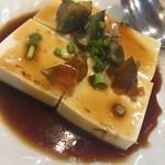 北京ダック専門店 北京カォヤーテン - ピータン豆腐