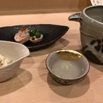 Sakagawa - 先付と日本酒
