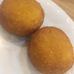 北京ダック専門店 北京カォヤーテン - かぼちゃ餅(二個セット)