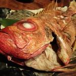 魚米 - 金時鯛の焼き物