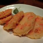 魚米 - 明太レンコンの揚げ物