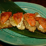 魚米 - いぶりがっこ&チーズ
