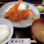 かま屋 - 料理写真:ミックスフライ定食!