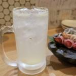 炉ばた えんてんか酒場 - 生レモンサワー 500円