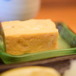 たけ美 - 【天然ぶり塩焼 定食@税込1,250円】玉子焼き