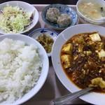中華大千居 - マーボ豆腐セット