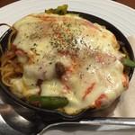 カフェ&レストラン ランプリール - 冬野菜のミートソースグラタン仕立て