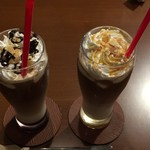 カフェ&レストラン ランプリール - キャラメルモカ&カフェモカ