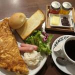 TERRACE COFFEE 01 - オムレツプレート
