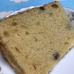 コカルド - きなこと小豆のシフォンケーキ♪