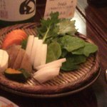 79221703 - 有機野菜の盛合せ880円