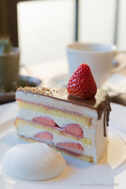 イロドリ - ストロベリーショートケーキチョコレートがけ