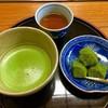 三星園 上林三入本店 - 料理写真:特製わらび餅セット
