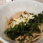 UMAMI SOUP Noodles 虹ソラ - 海苔とチーズを麺に投入(2018年1月10日)