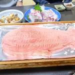 黒潮丸 - 2017年10月 鯛の塩焼【誕生日特別メニュー】