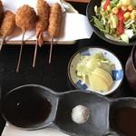 串仁 - 串揚げランチ