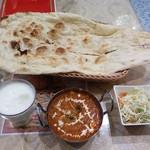 パキスタン・アラビアン・インド料理 デラ - A MEAL 日替わり豆と卵のカレー