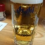 やきとり能勢 - 生ビール