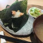 和風カフェ しゅしゅ - お味噌汁・お新香 付き