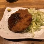 学芸大学前 肉寿司 - 豚 メンチカツ