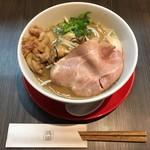 味噌専門店 味噌呉田 life - 牡蠣味噌ラーメン(1,200円) 2018.1