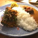 カルネ - 2種盛カレー