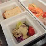 79226837 - 牡蠣と有機野菜のサラダ