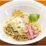 煮干し豚骨らーめん専門店 六郷 - 和え玉。これで200円は安い!しかも2018年1月末までならホットペッパークーポンで無料!
