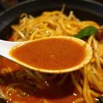 大勝彦 - 辛味味噌ラーメン2辛スープアップ