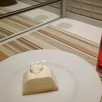 トップス - ケーキセット(チーズケーキ・ローズヒップピーチティー) ¥950